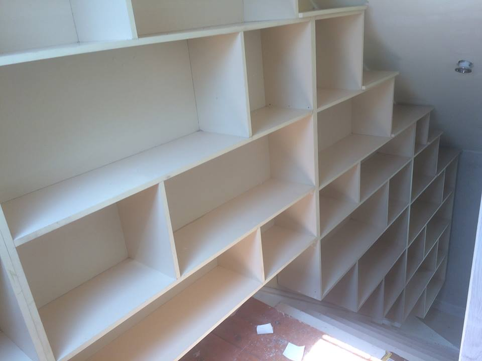 Local Carpentry Service - Custom Bookshelves
