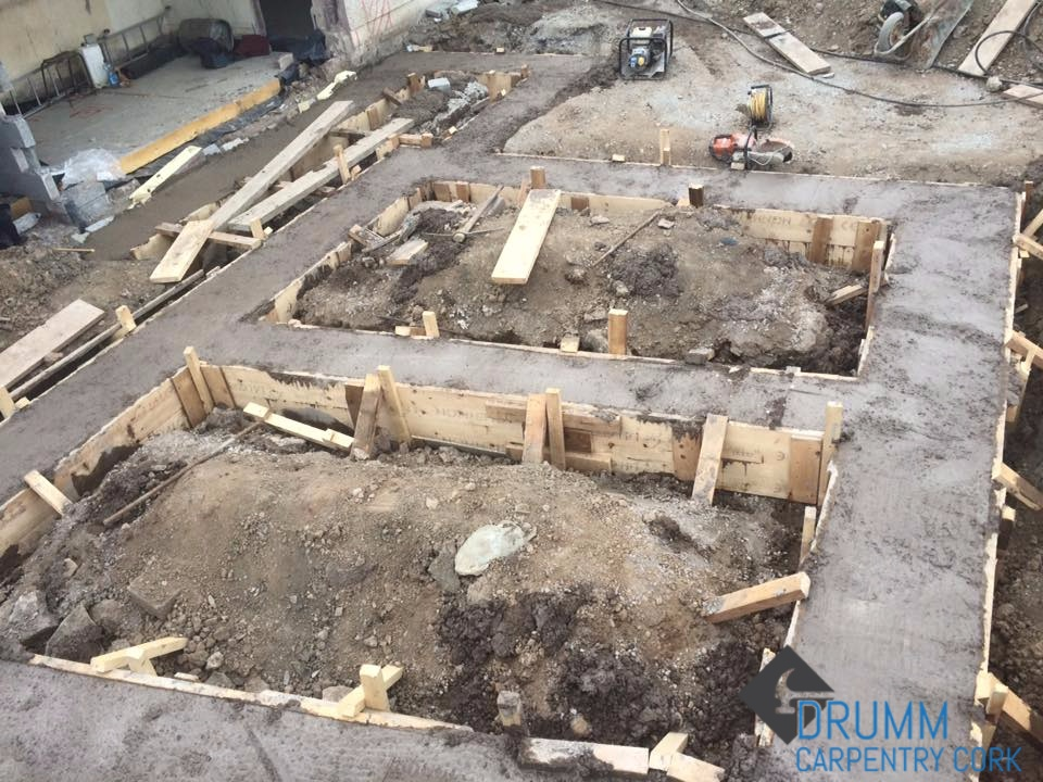 foundation shuttering