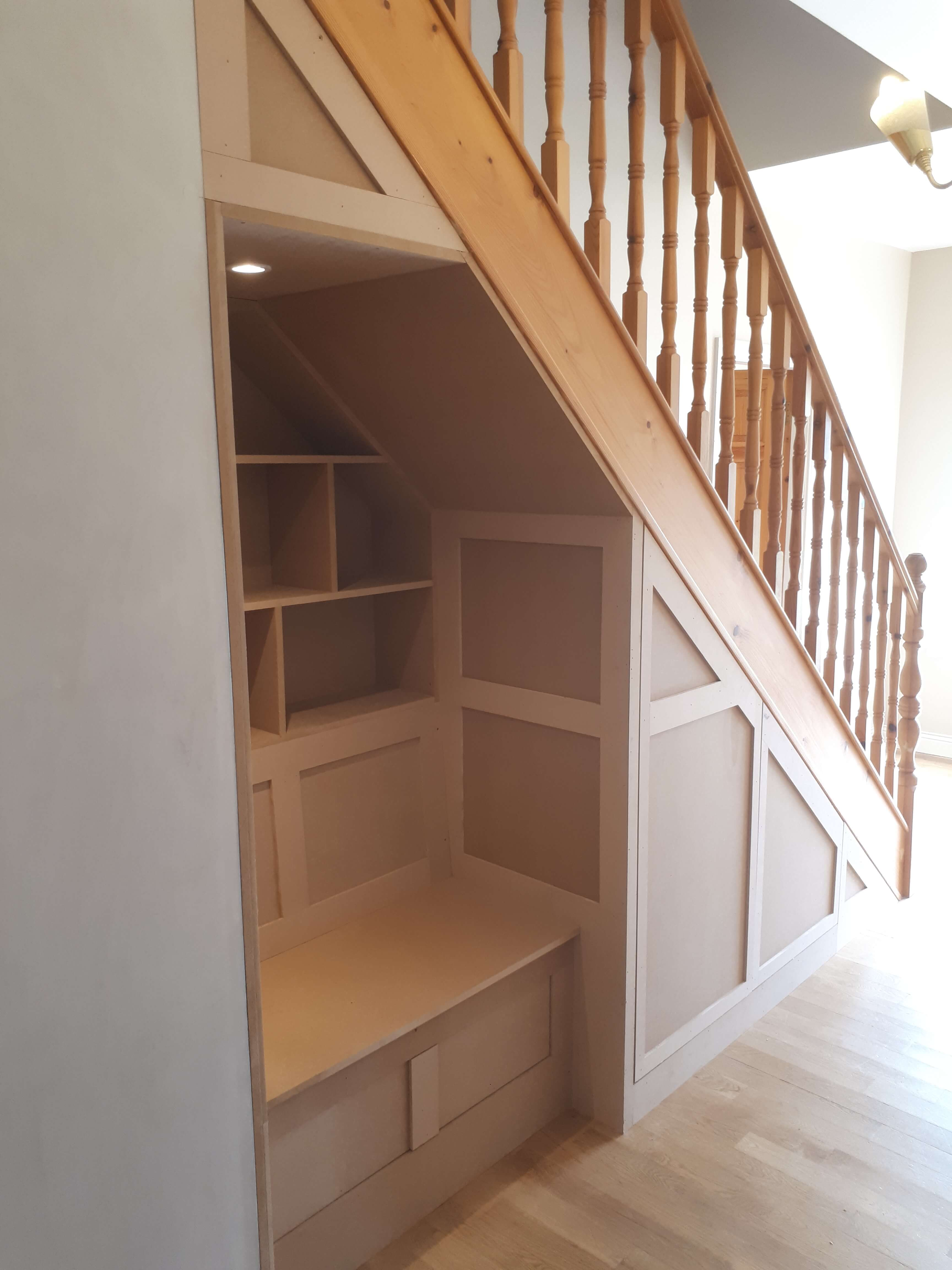 Fitted furniture cork